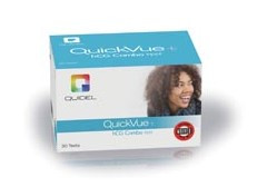 QuickVue+ Pregnancy Test One-Step hCG Combo Test