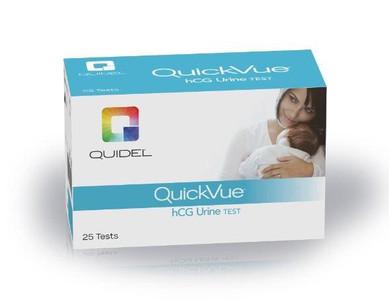 QuickVue Pregnancy Test One-Step hCG Urine Test