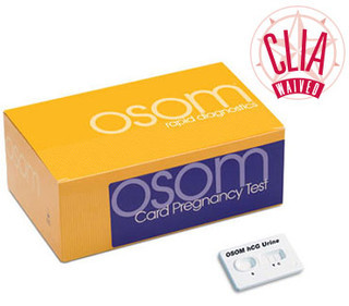 OSOM hCG Card Pregnancy Test