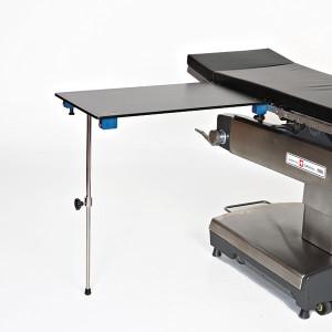 Arm/Hand Surgery Table-Rectangle-Carbon Fiber-Single Foot