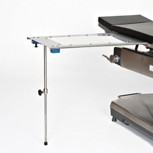 Arm/Hand Surgery Table-Under Pad Mount-Single Foot