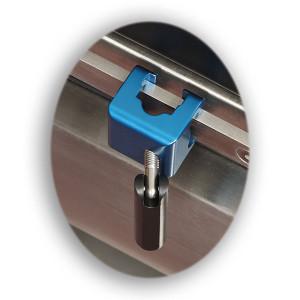 Surgery Table Universal Rail Clamp-Aluminum