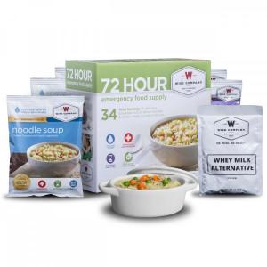 Wise 72 Hour Emergency Food & Drink Supply