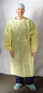 Impervious Medical Isolation Gowns