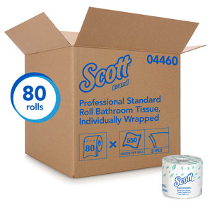Scott Essential Standard Roll Bath Tissue