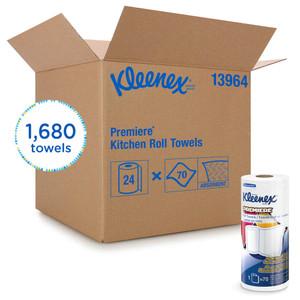 Kleenex Premiere Kitchen Paper Towel Rolls