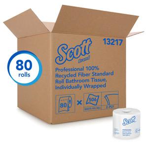 Scott Essential Recycled Bathroom Tissue
