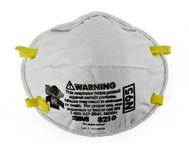 3M N95 Mask 8210 Particulate Respirator