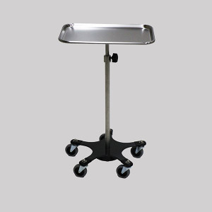 Mayo Stand, Weighted Base Stainless Steel
