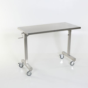 Height Adjustable Tables-Stainless Steel