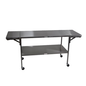 3-in-1 Instrument Table-Stainless Steel,Space Saving