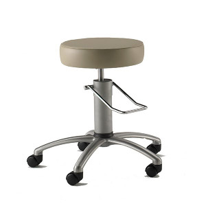 Surgical Seating with Aluminum Base
