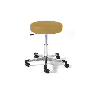 Physician Stool with D Ring Adjustment,Bright Chrome Base