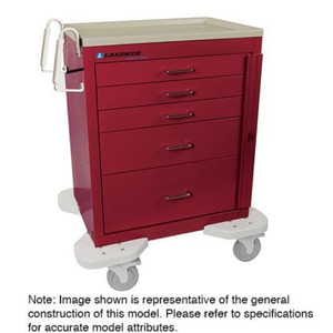 "Classic Crash Cart-21"" Drawer Capacity"