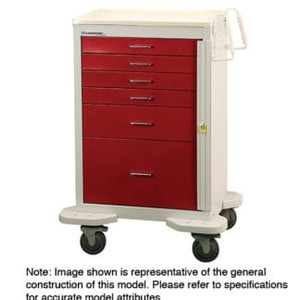 "Classic Crash Cart-27"" Drawer Capacity"