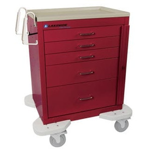 Classic Crash Cart-5 Drawer