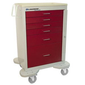 Classic Crash Cart-6 Drawer,Two Toned