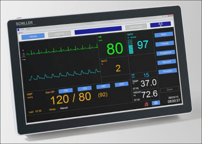 Diagnostic Station DS20, Version Masimo with Temperature Probe