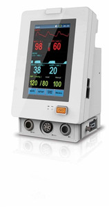 Tranquility VS Monitor - C02 + Sp02 + NIBP + External Temperature Module