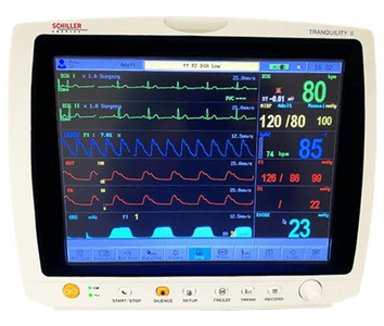 Tranquility II Vital Signs Monitor With ISA Side Stream Analyzer And Printer
