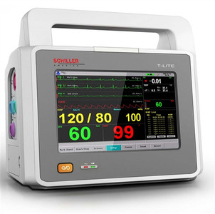 T-Lite 7-Inch Touchscreen Multiparameter Patient Monitor With ETCO2 And Printer