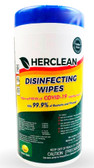 Herclean Surface Disinfecting Wipes EPA Canister - Case