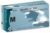 NitriDerm Nitrile Exam Gloves Powder-Free