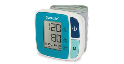 Surelife Wrist Blood Pressure Monitor Classic