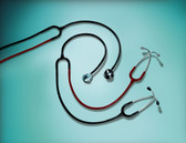 3M Littmann Classic II S.E. Teaching Stethoscope 2138 Black-Burgundy