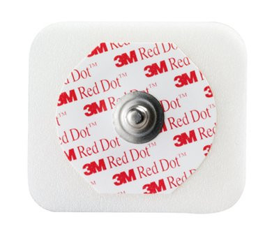 3M Red Dot ECG Electrodes Foam Tape Sticky Gel 2560
