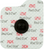 3M Red Dot Repositionable Monitoring Electrode 5 Per Bag 2660-5, Radiolucent, Soft cloth
