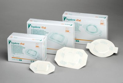 3M Tegaderm +Pad Film Dressing with Non-Adherent Pad