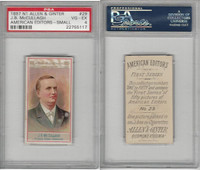 N1 Allen & Ginter, American Editors, 1888, #29 JB McCullagh, St Louis, PSA 4