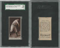 T207 ATC Baseball, 1912, George Wiltse, New York, SGC 50 VGEX
