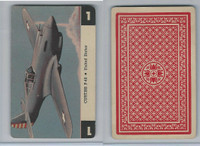 1950 Airplane Playing Cards, #1 Curtiss P40, United States