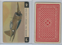 1950 Airplane Playing Cards, #2 Brewster F2A-3, United States