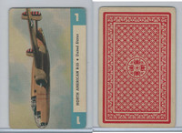 1950 Airplane Playing Cards, #1 North American B25, United States