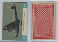 1950 Airplane Playing Cards, #2 Short Sunderland, England