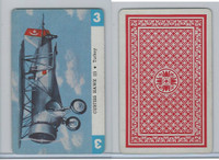 1950 Airplane Playing Cards, #3 Curtiss Hawk III, Turkey