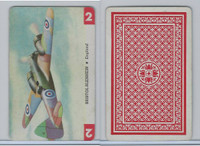 1950 Airplane Playing Cards, #2 Bristol Blenhein, England