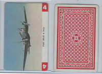 1950 Airplane Playing Cards, #4 Fiat BR20, Italy