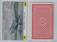 1950 Airplane Playing Cards, #3 Curtiss XP42, United States