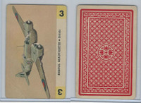 1950 Airplane Playing Cards, #3 Bristol Beaufighter, Britain