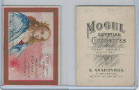 T112 Mogul Cigarettes, Toast Series, 1909, A Girl Seeks Marriage