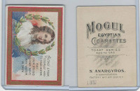 T112 Mogul Cigarettes, Toast Series, 1909, Altho Stock Usually