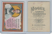 T112 Mogul Cigarettes, Toast Series, 1909, Heres To The Union