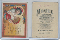 T112 Mogul Cigarettes, Toast Series, 1909, Inform Me Next