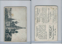 T120 Omega Cigarettes, World Views, 1910, Cathedral St. Basile, Russia