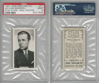 S70-17 John Sinclair Ltd, Film Stars, 1934, #11 William Bakewell, PSA 9 Mint