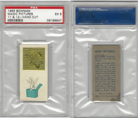 1955 Bowman, Magic Pictures, #11 & 12, PSA 5 EX